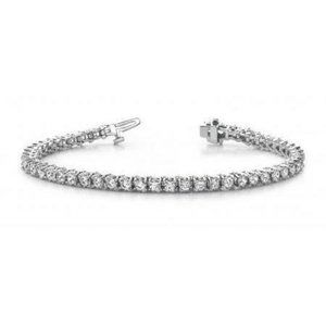 Jewelry - Women sparkling 8.50 carats round diamonds lady te